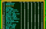 1st Division Manager Atari ST The results are in