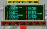 1st Division Manager Atari ST Matches every week