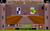 Castle Master Atari ST Attacked by a spirit in the great hall