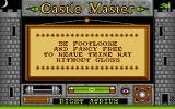 Castle Master Atari ST Some of the messages are really cryptic