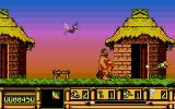 Les aventures de Carlos Atari ST The hut doors takes you to different locations