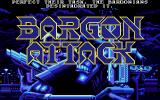 Bargon Attack Atari ST Title screen