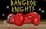 Bangkok Knights Atari ST Title screen