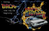 Back to the Future Part II Atari ST Title screen