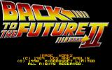 Back to the Future Part II Atari ST Second title screen