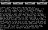 Corruption Atari ST Text only beginning