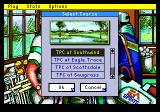 PGA Tour Golf II Genesis Select a course.