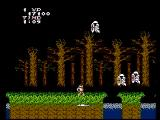Ghosts 'N Goblins NES A haunted forest