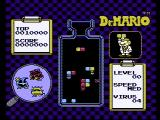 Dr. Mario NES Starting a one player game
