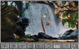 Amazon: Guardians of Eden DOS Over a waterfall, look out below! (VGA)