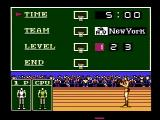 Double Dribble NES Set up game options