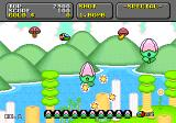 Super Fantasy Zone Genesis These flower type enemies must be defeated to progress through this level.