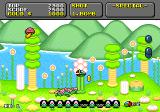 Super Fantasy Zone Genesis Collect coins from defeated enemies.