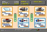Super Fantasy Zone Genesis The parts shop