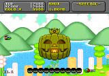 Super Fantasy Zone Genesis The boss of the first round