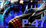 P47 Thunderbolt DOS Title screen
