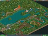 RollerCoaster Tycoon 2 Windows This is one of the pre-designed Six Flags parks.