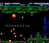 Air Buster TurboGrafx-16 Lots of bullets