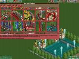 RollerCoaster Tycoon 2 Windows The new look of the ride selection screen; in this case, rollercoasters.