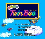 Detana!! TwinBee TurboGrafx-16 Title screen