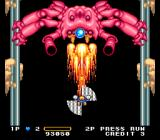Detana!! TwinBee TurboGrafx-16 The first boss
