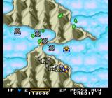 Detana!! TwinBee TurboGrafx-16 Lots of penguins attack from the ground