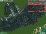 RollerCoaster Tycoon 2 Windows The Black Widow is going for a test run; here's to success!