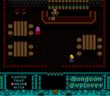 Dungeon Explorer TurboGrafx-16 Game start - choose a hero