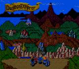 Dungeon Explorer TurboGrafx-16 The heroes behold the land
