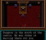Dungeon Explorer TurboGrafx-16 Talking to the king. I'm sure his servant is a trustworthy chap.