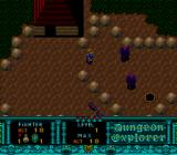 Dungeon Explorer TurboGrafx-16 Out in the wilderness. Zombies and larvae attack.
