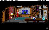 King's Quest IV: The Perils of Rosella DOS AGI: The seven dwarfs' house.