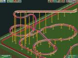 RollerCoaster Tycoon 2 Windows That first drop looks kind of scary... but hey, it'll make money!