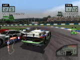 Le Mans 24 Hours Dreamcast Collision