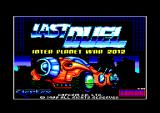 Last Duel: Inter Planet War 2012 Amstrad CPC Title