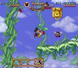 The Magical Quest Starring Mickey Mouse SNES With these tomatoes Mickey can fly for a short while.