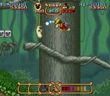 The Magical Quest Starring Mickey Mouse SNES With the magic turban Mickey can shoot...