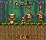 The Magical Quest Starring Mickey Mouse SNES Don't get smashed!
