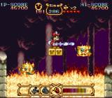 The Magical Quest Starring Mickey Mouse SNES With it, he can extinguish fire...