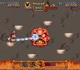 The Magical Quest Starring Mickey Mouse SNES Boss fight - keep shooting at him before he heats up again.