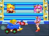 Mega Man Battle & Chase PlayStation In the beginning of every race the announcer introduces your opponent.