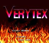 Verytex Genesis Title screen