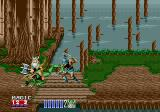 Golden Axe II Genesis One of the trademarks of the Golden Axe series is the ability to ride several strange beasts; this one delivers a strong kick with its rear legs