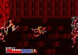 Golden Axe II Genesis Tyris' special attack is this acrobatic back flip