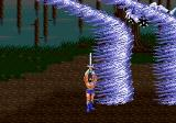 Golden Axe II Genesis Ax's magic uses the power of the wind