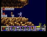 Turrican Amiga Clearing a path