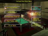 Virtual Pool DOS Main menu