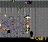 Firepower 2000 Genesis Fighting a squadron of planes.