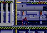 Spider-Man Genesis At the top of the screen is Spiderman's energy bar.