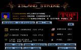 Island Strike: The Ultimate Conflict Atari ST Info screen